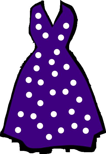 Polka Dot Dress Clip Art