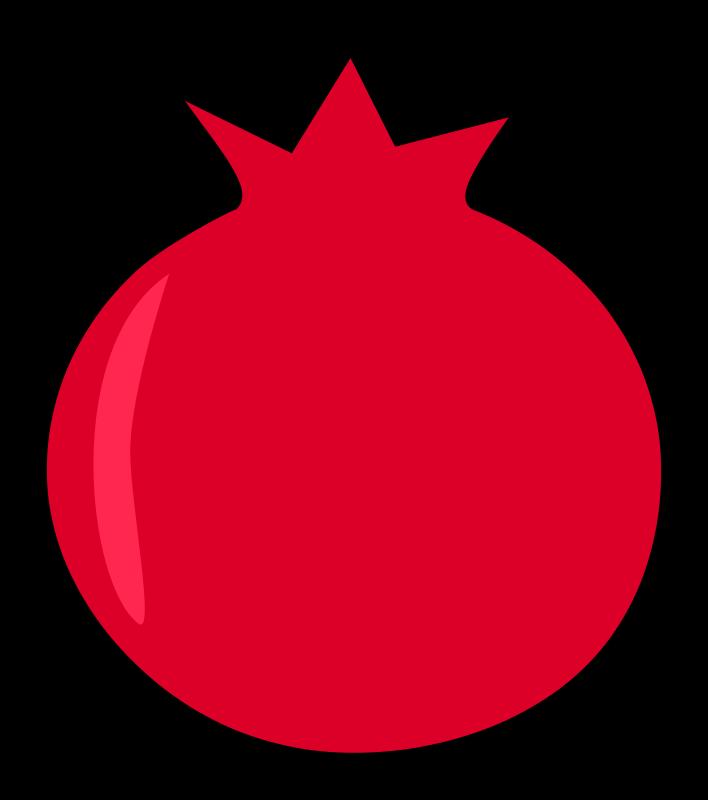 Pomegranate Clipart-Clipartlook.com-708