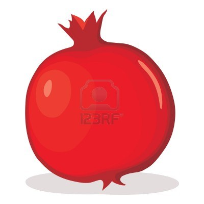 pomegranate clipart - Pomegranate Clipart