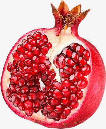 pomegranate, Red, Red Seed Seeds PNG Image and Clipart
