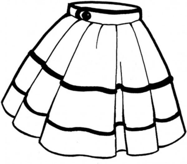 Poodle Skirt Clip Art Clipart Best
