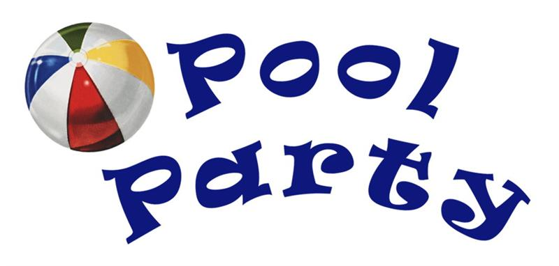 Pool Party Clip Art Related .