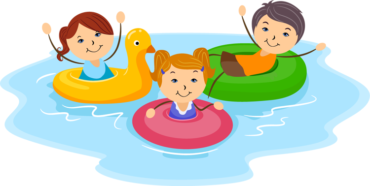 Pool Safety Clipart