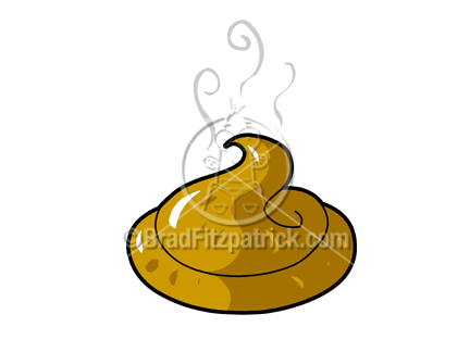 Cartoon Poop Clipart Graphic