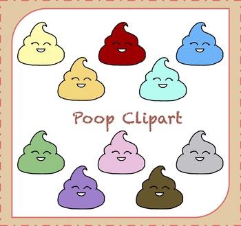 Poop Clipart / Emoji Clipart / Poop Emoji Clipart