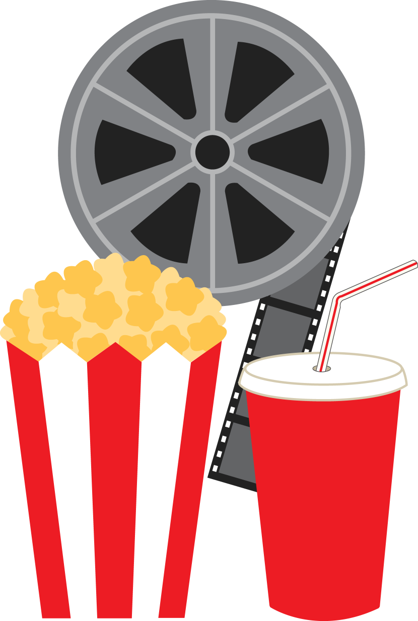 Popcorn and movie clipart free clipart image cliparts and