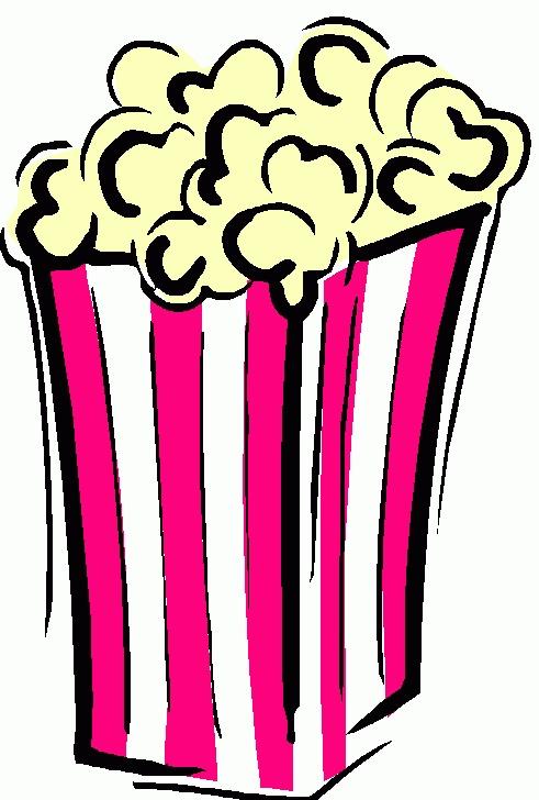 Clipart Popcorn Clipart