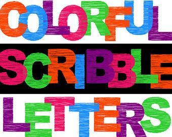 Popular items for letter clipart on Etsy