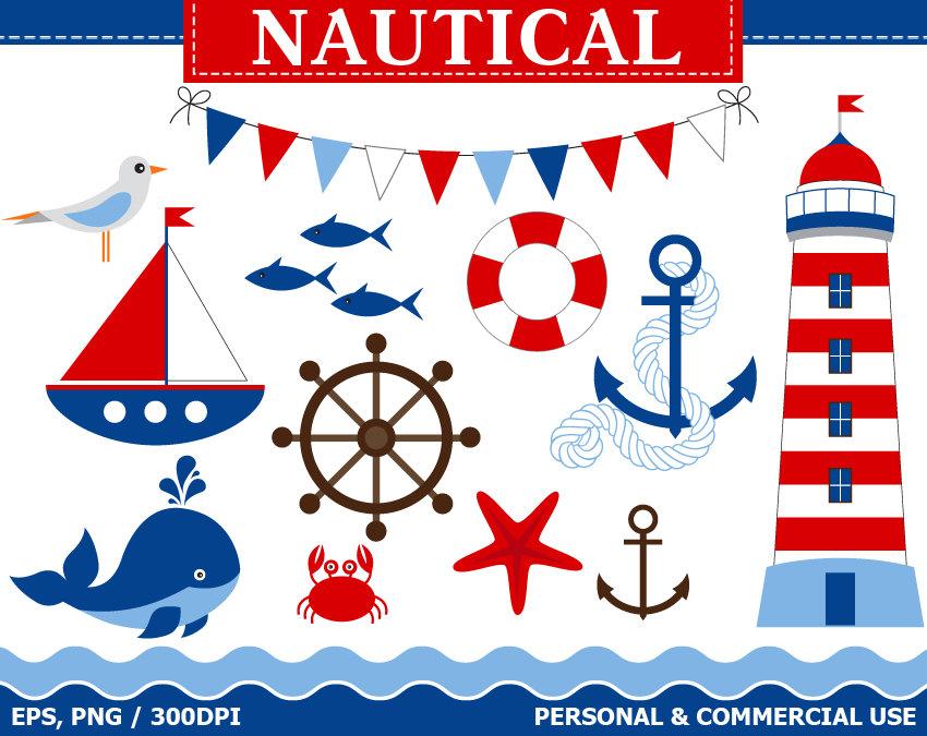 Popular items for nautical clip art