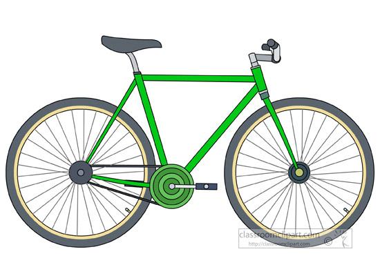 porteur bicycle clipart