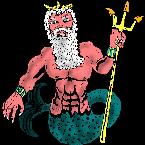 Poseidon Clip Art Poseidon Png