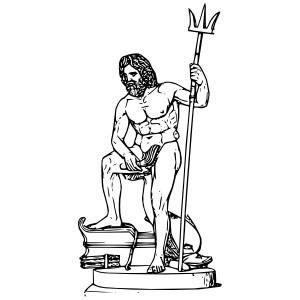 ... Poseidon clip art - vector clip art online, royalty free u0026amp; p .