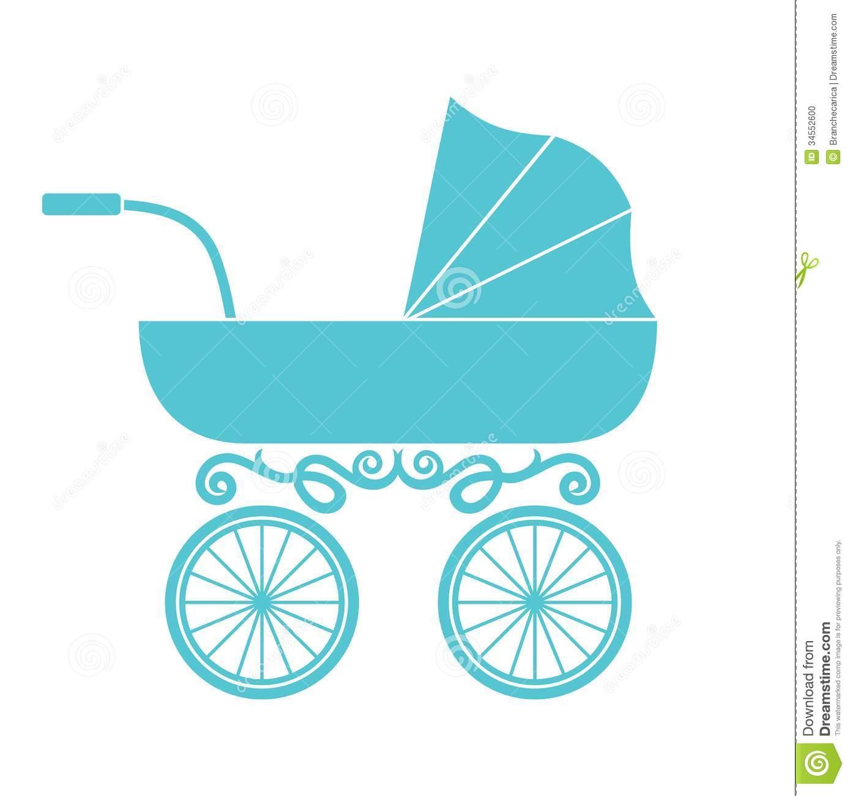 Pram Baby Carriage Stock Photo Image 34552600