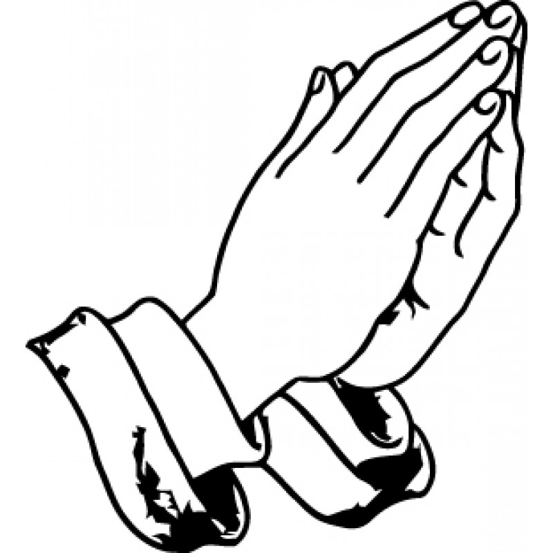 Praying Hands Clip Art Free Cliparts Co