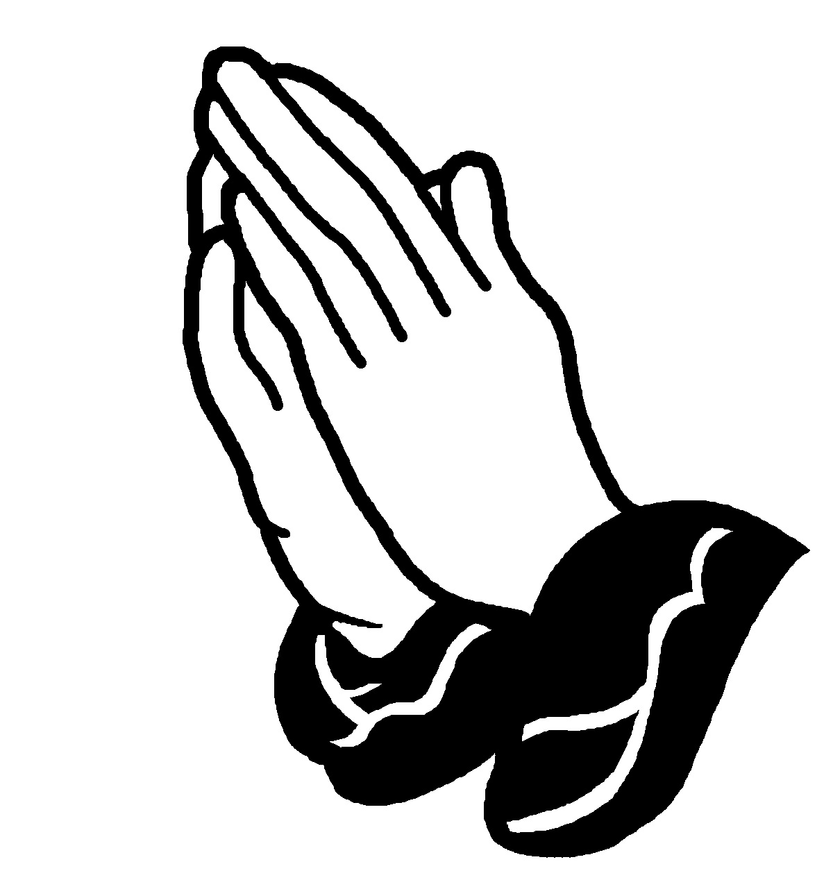 Clip Art Praying Hands