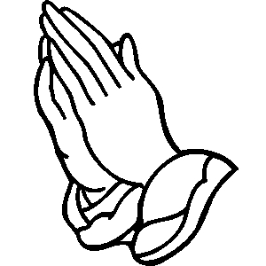 Praying hands clip art free Praying Hands Clipart 3