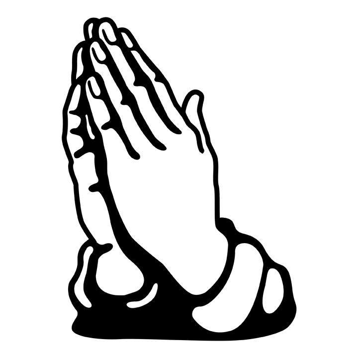 Praying hands clip art free Praying Hands Clipart