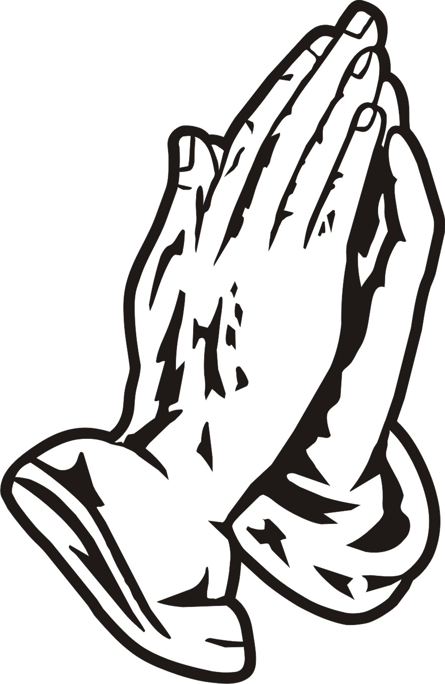 Praying hands praying hand prayer hands clipart clipart image 9 4