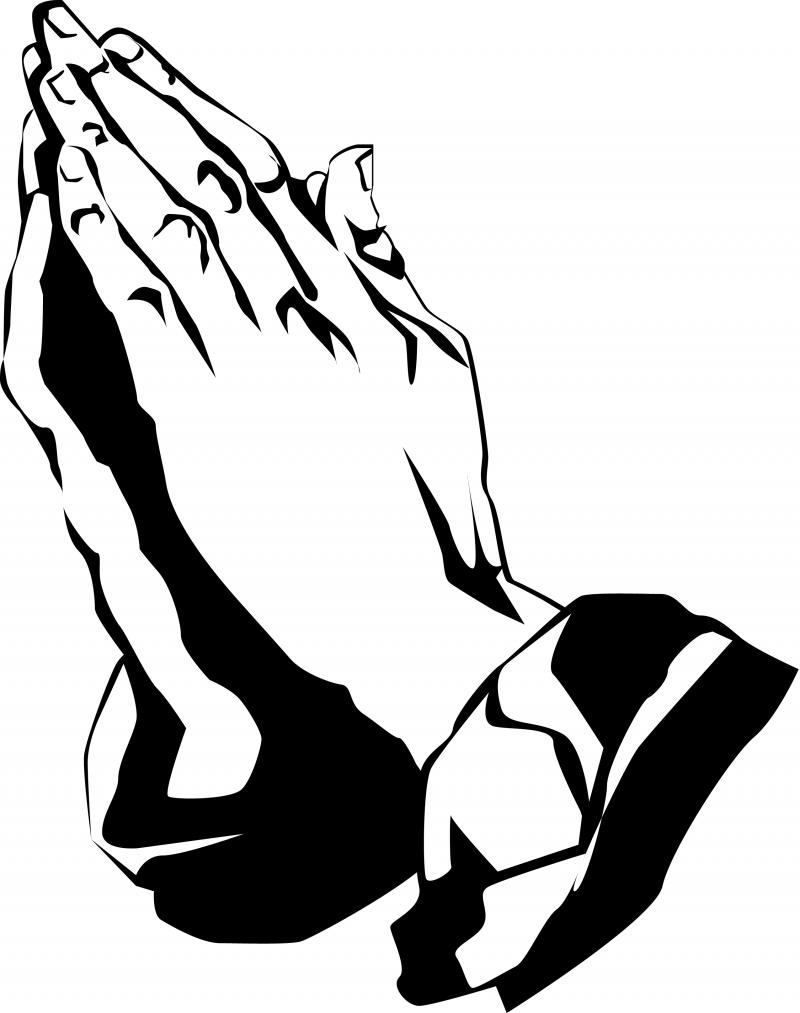 Praying Hands With Bible Clipart | Clipart library - Free Clipart Images