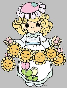 precious moments images clipart | Precious Moments Clipart - Quality Cartoon Characters Clipart Images