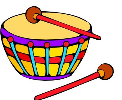 Preschool Drums Clipart