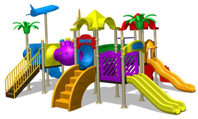 Preschool Playground Equipment Clipart