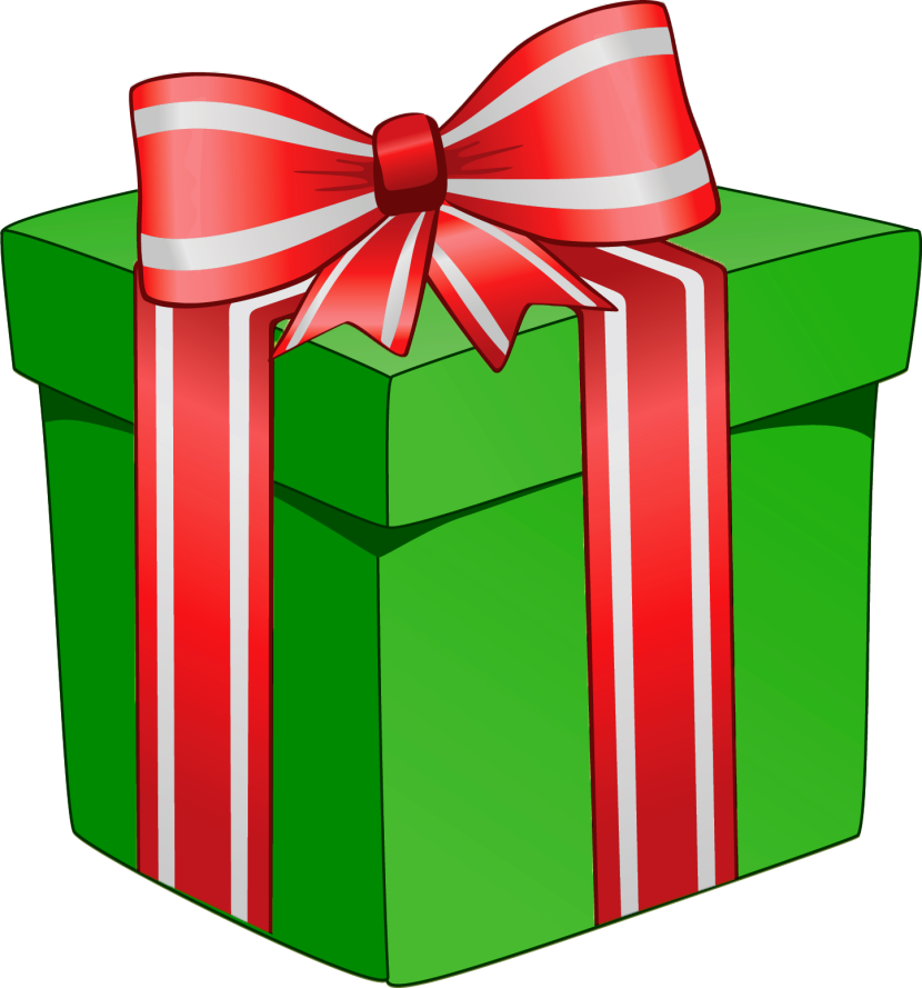 Christmas Tree With Presents  - Present Clipart