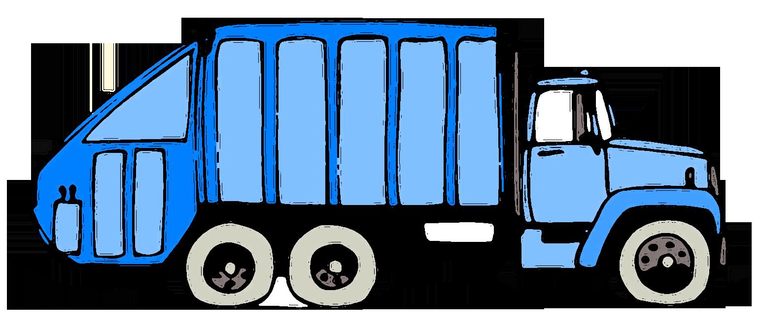 Pretty Garbage Truck Clipart .
