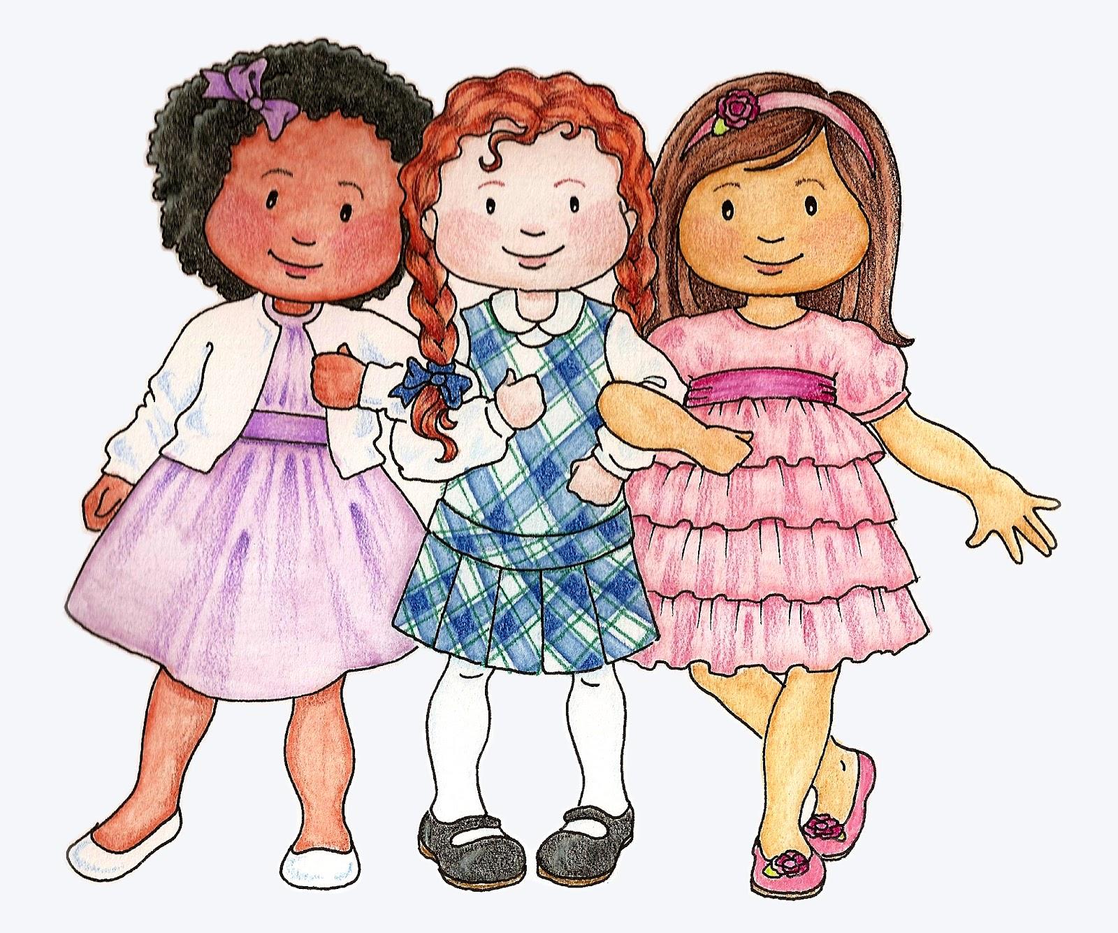 Primary Kids Clip Art