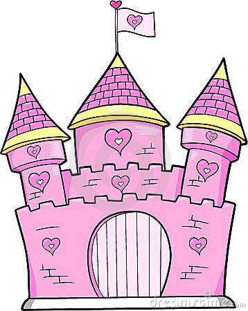 princess castle clipart