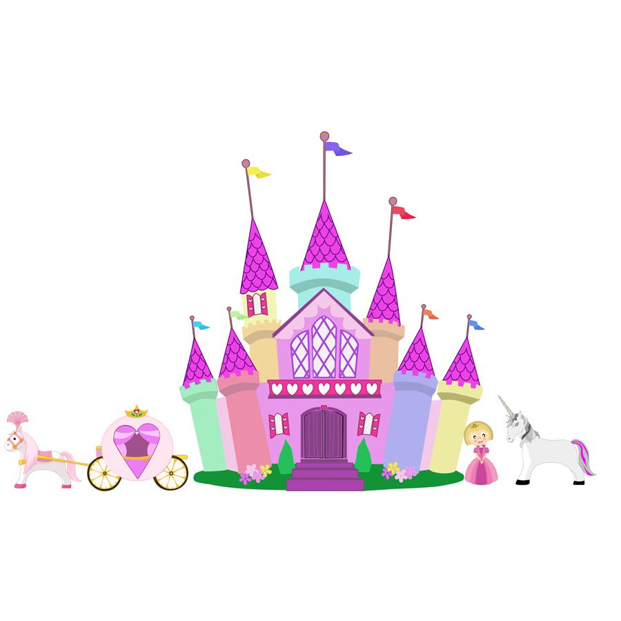 Princess Castle Set | More Than Vinyl