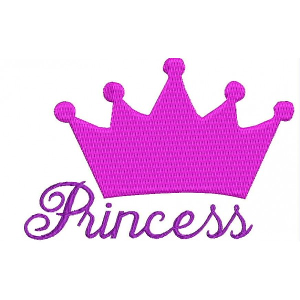 Princess Crown Embroidery Designs