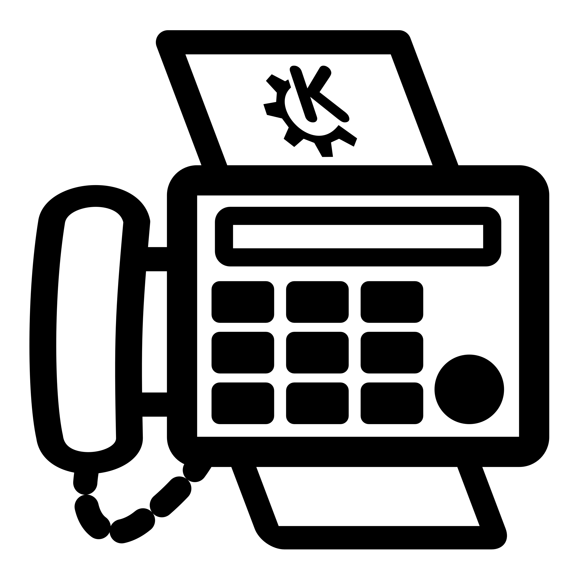 Print and Fax Icon