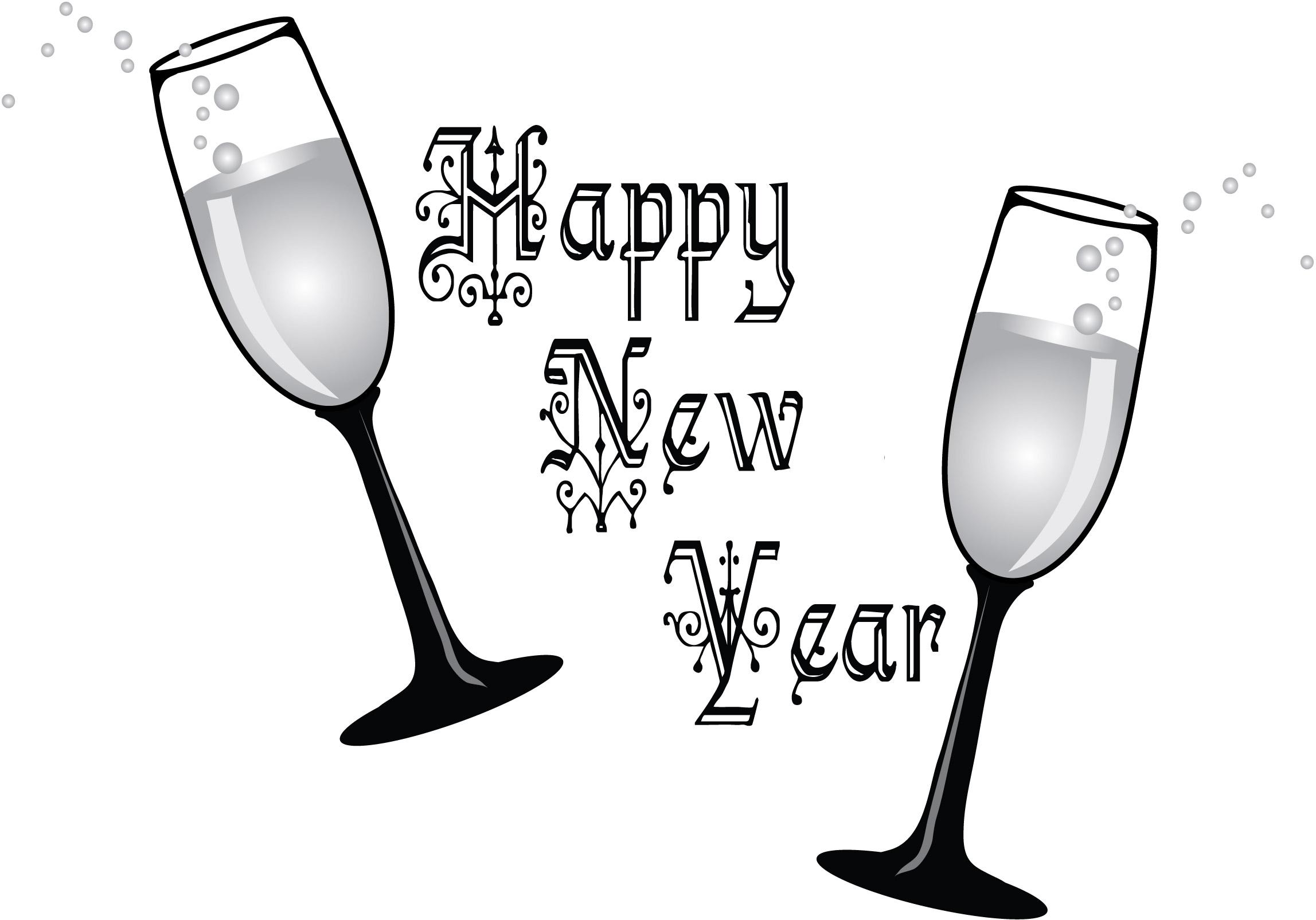 Printable Happy New Year .