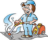 Professional Rug Cleaner u0026middot; illustration of a Carpet Cleaner