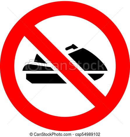Prohibition red sign - csp549 - prohibited sign clipart