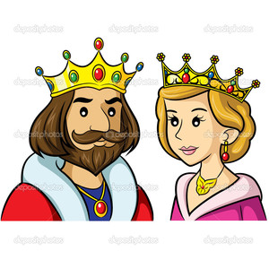 Prom Queen And King Clipart