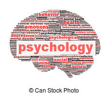 ... Psychology symbol design isolated on white. Mental health.
