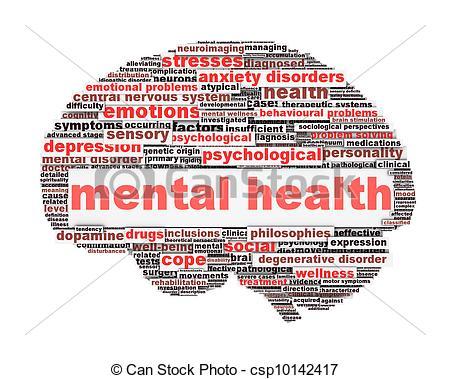 PTSD Mental Health Clip Art