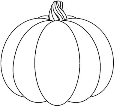 Pumpkin. Black And White Pumpkin Clip Art ...
