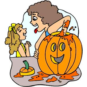 Pumpkin Carving clipart .