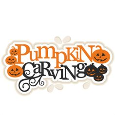 Pumpkin Carving Title The JPGs and PNGs are high quality with a resolution of 300 dpi. You will also receive 1 PDF instruction sheet for the SVGs, ...