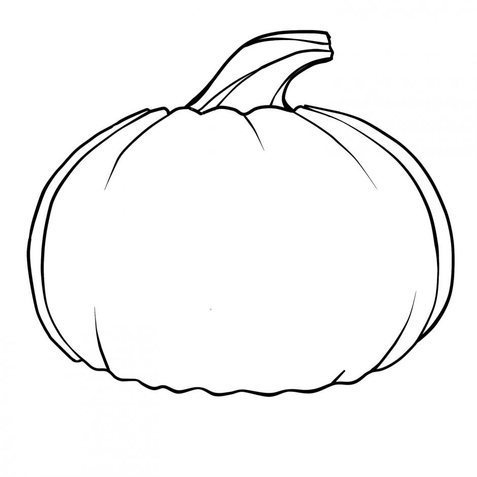 Pumpkin black and white black - Pumpkin Clipart Black And White