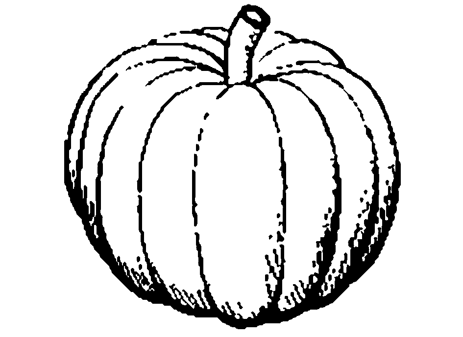 Pumpkin black and white pumpkin clipart black and white 2