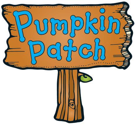 Pumpkin patch thankful pumpkin clipart