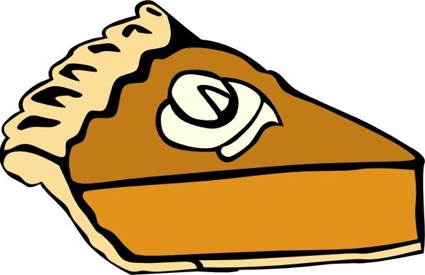 Pumpkin Pie clip art Free .