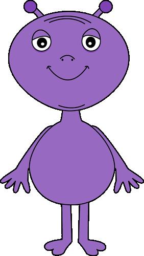 Purple Alien