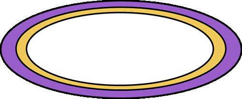 Purple Oval Rug Clip Art