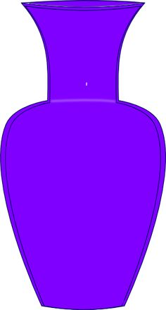 Purple Vase Clip Art Invite Person With Memory Loss To Paint Flowers