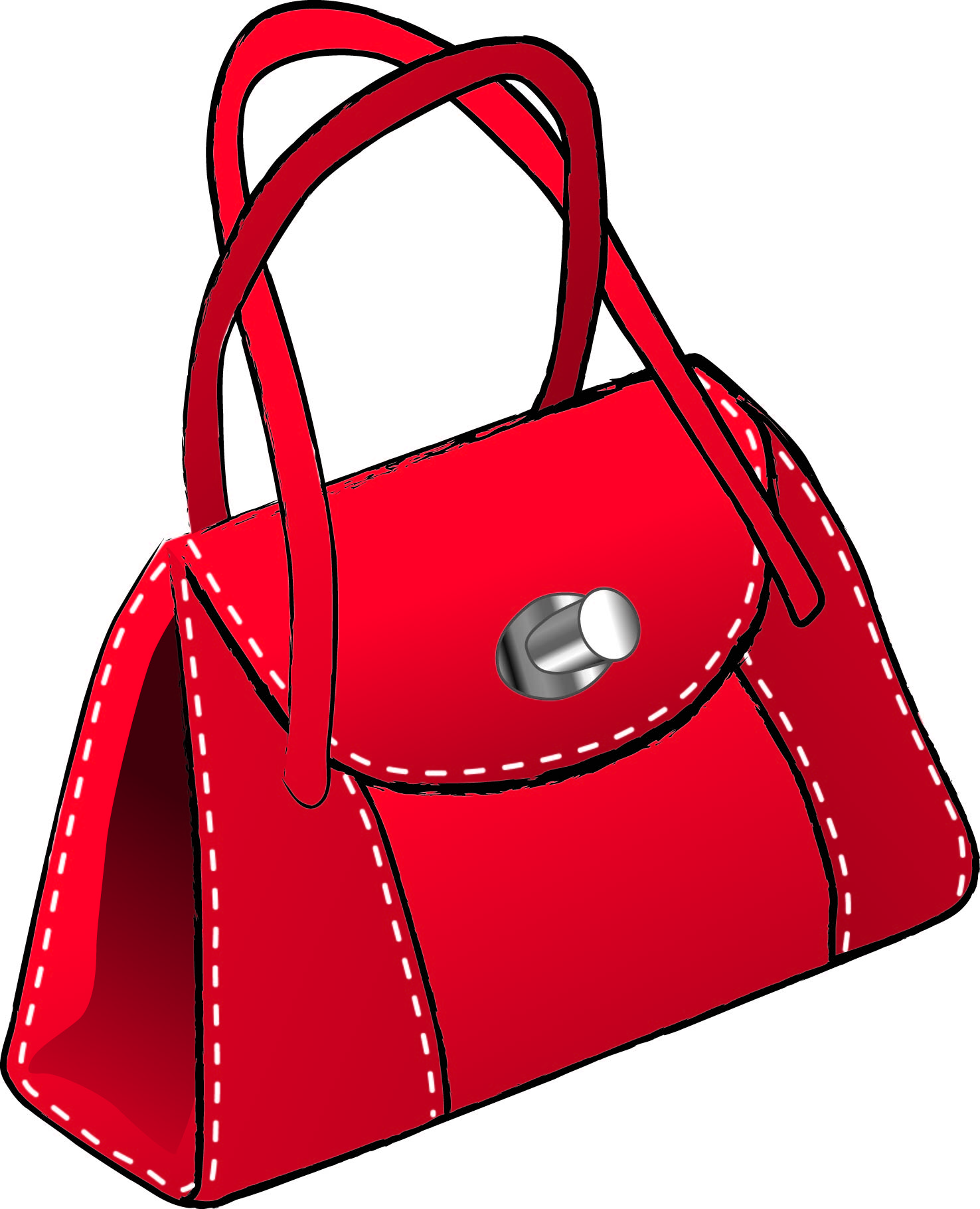 Custom handbags and purses cl - Purse Clipart